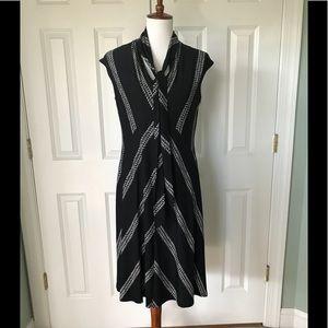Nine West Black & White Dress